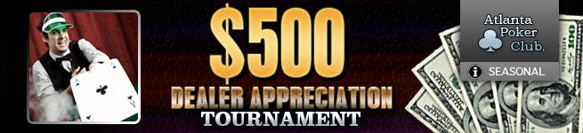 APC $500 Dealer Appreciation Tournament
