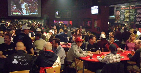 You'll get a full house with the Atlanta Poker Club!